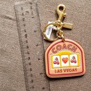 Coach Las Vegas Bag Charm